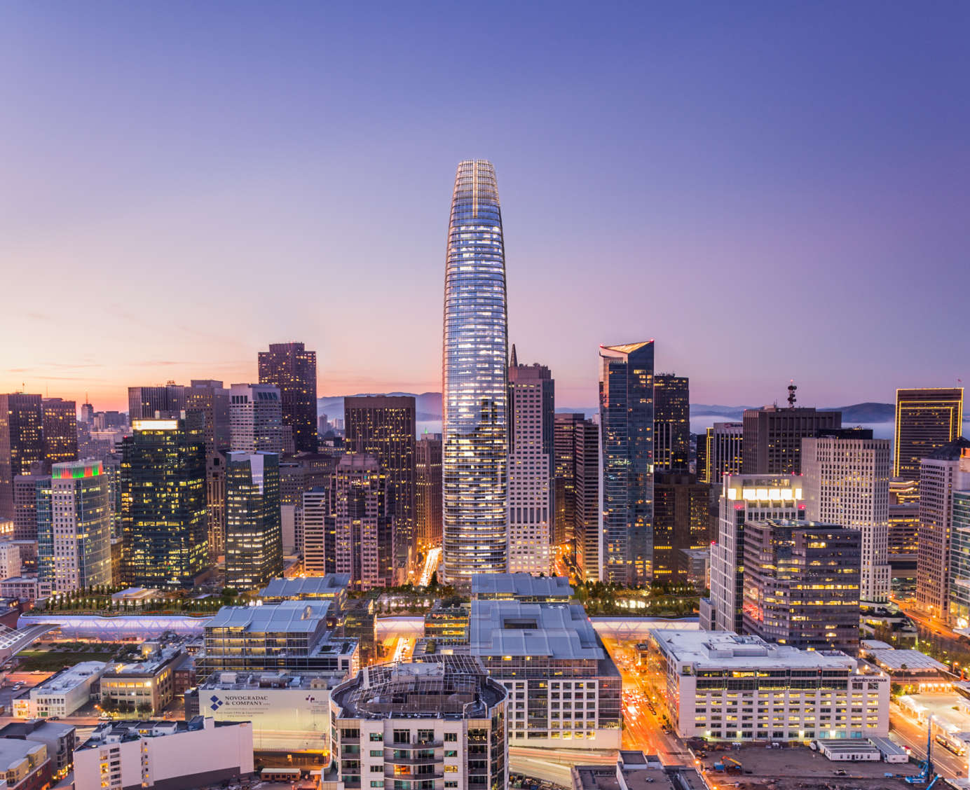 Aquacell system to be nestled underneath Salesforce Tower, San Francisco